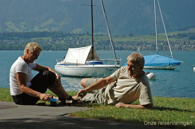 Zwitserland en de Cote d'Azur