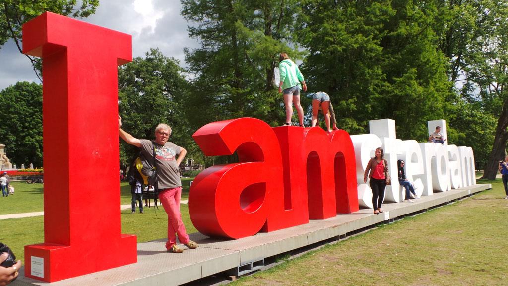 Amsterdam en Friesland met de camper
