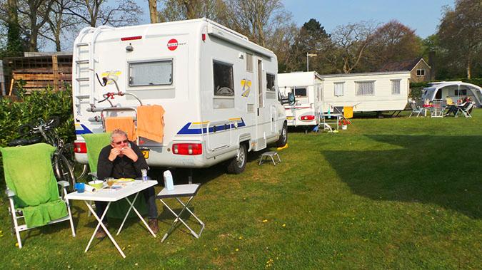 camping buitenduin